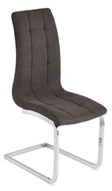 Ēdamistabas krēsls Verners Granada Dark Grey