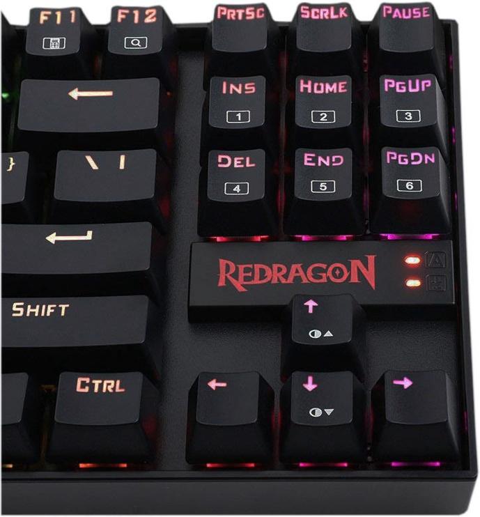 Redragon K552 RGB Mechanical Gaming Keyboard Black