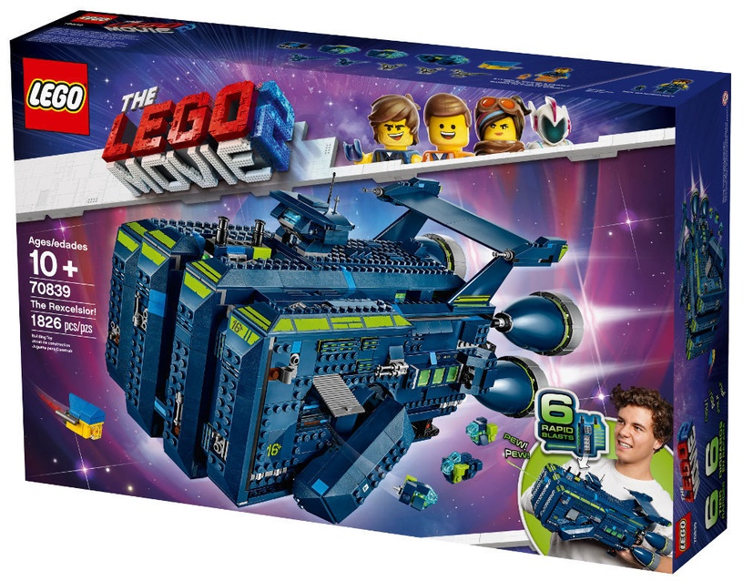 Konstruktors LEGO The Movie The Rexcelsior 70839