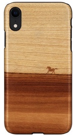 Man&Wood Mustang Back Case For Apple iPhone XR Brown