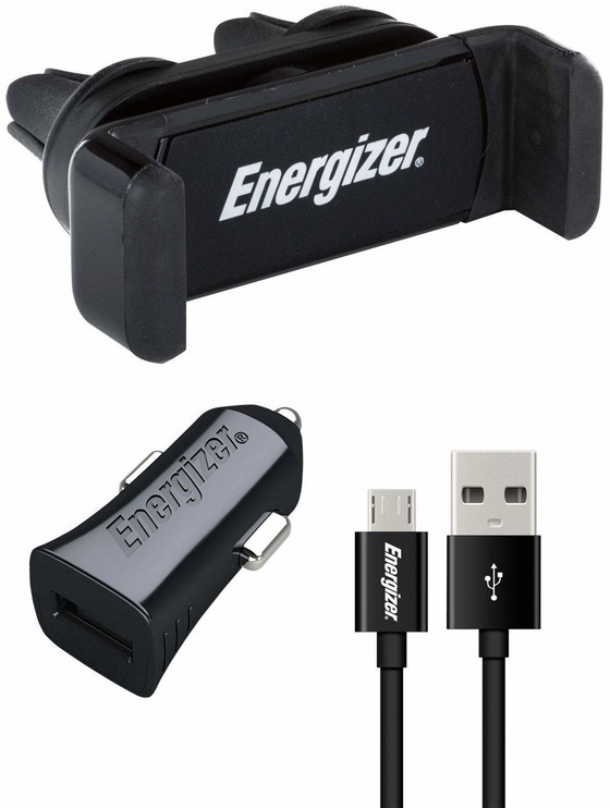 Energizer Charging Car Kit Micro USB Black