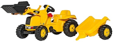 Rolly Toys Front Loader Tractor With Trailer CAT 023288