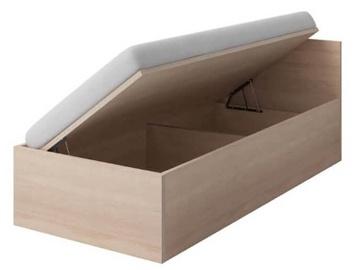 Bērnu gulta Idzczak Meble Smyk III 46 Sonoma Sonoma Oak, 206x93.5 cm