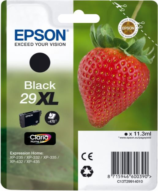 Epson Claria 29XL Ink Cartridge Black