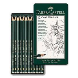 Краски Faber Castell Graphite Pencil 9000, 12 шт.