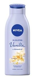 Ķermeņa losjons Nivea Oil In Lotion Vanilla & Almond Oil, 400 ml