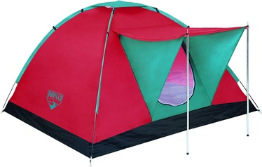 Telts Bestway 68012 Pavillo Range X3 Tent Red