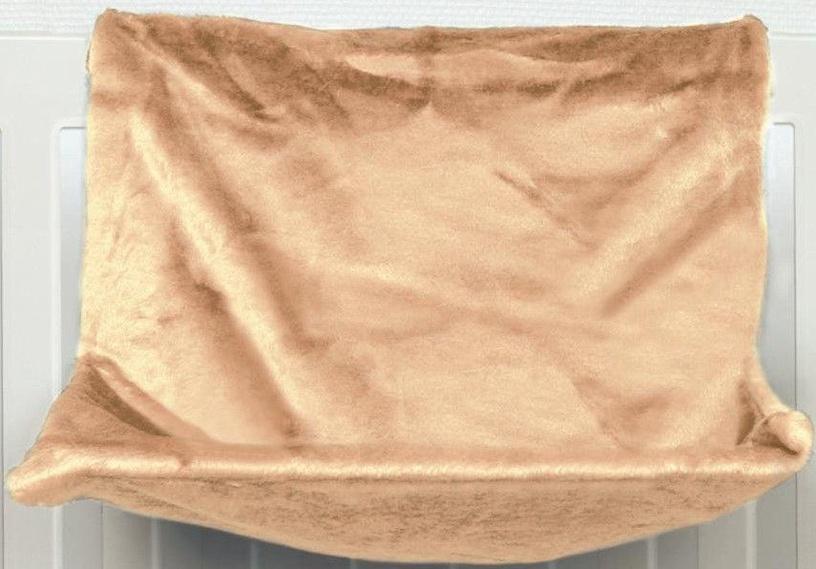 Trixie Plush Radiator Bed Beige