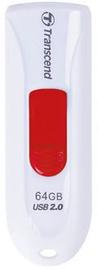 USB atmiņas kartes Transcend JetFlash 590 White, USB 2.0, 32 GB