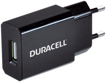 Duracell Universal 1A USB Plug Charger Black