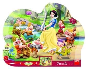 Dino Frame Puzzle Snow White Puzzle 25pcs