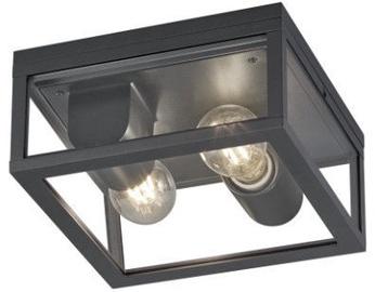 Trio Garonne antracīta griestu lampa, IP44, 2x E27