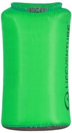 Ūdensnecaurlaidīgs maiss Lifeventure Ultralight, 55l, zaļa