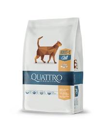 Sausā kaķu barība Quattro, 0.4 kg