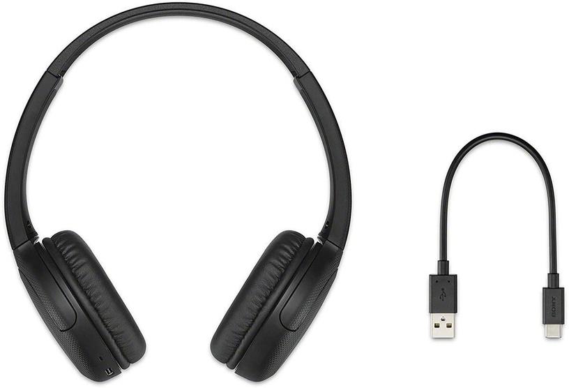 Bezvadu austiņas Sony WH-CH510, melna