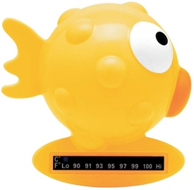 Chicco Globe Fish Bath Thermometer Yellow