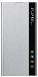 Samsung Clear View Case For Samsung Galaxy Note 10 Plus Silver
