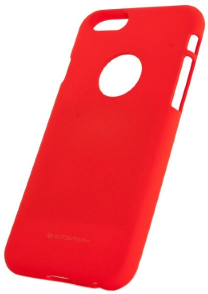Mercury Soft Surface Matte Back Case For Samsung Galaxy Note 8 Red