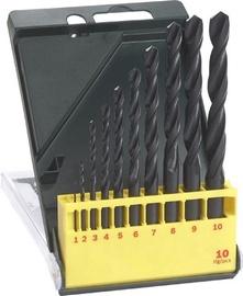 Bosch HSS-R Drill Bit Set 10pcs