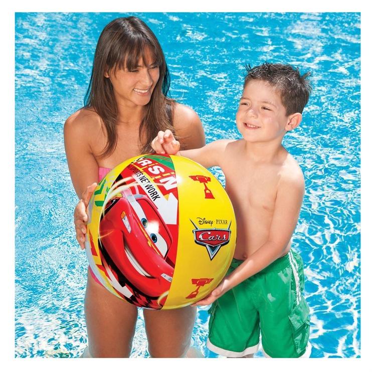 Intex Beach Ball Disney Cars 61cm 58053