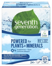 Seventh Generation All In One Dishwasher Tablets 24pcs
