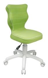 Детский стул Entelo VS05 White/Green, 370x350x830 мм