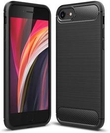 TakeMe Carbon Effect Back Case For Apple iPhone 7/8/SE 2020 Black