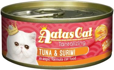 Aatas Cat Tantalizing Tuna & Surimi 80g