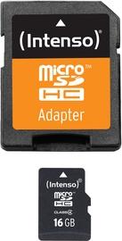 Intenso 16GB MicroSDHC Class 4 + SD Adapter 3403470
