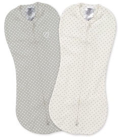 Summer Infant SwaddleMe Pod 2pcs Grey/White Dot