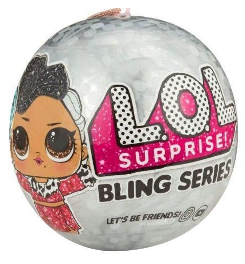 MGA L.O.L. Bling Series Surprise Glitter Doll