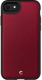 Spigen Ciel Leather Back Case For Apple iPhone 7/8/SE 2020 Red