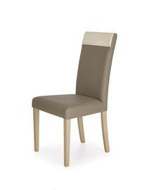 Ēdamistabas krēsls Halmar Norbert Oak/Beige