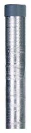 Garden Center Round Pillar 3.8x230cm Silver