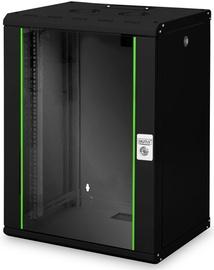 Serveru skapis Digitus DN-19 16-U-SW, 60 cm x 45 cm x 82 cm
