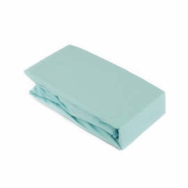Простыня Domoletti 12-4608 Blue, 160x200 см, на резинке
