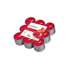 Aromātiskā svece Bolsius Pomegranate, 18 gab. , 4 h