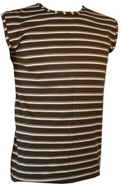 Bars Mens Shirt Khaki/White 211 L
