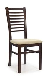 Ēdamistabas krēsls Halmar Gerard 6 Dark Walnut/Torent Beige