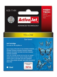 ActiveJet AEB-714 Cartridge 15ml Yellow