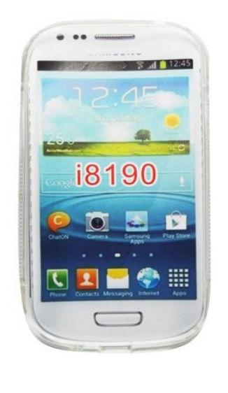 Telone Back Case S-Case for Samsung i8190 Galaxy S3 Mini Transparent
