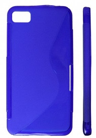 KLT Back Case S-Line Nokia 305 Asha Silicone/Plastic Blue