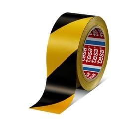 Brīdinājuma josla Tesa 607600 Marking Tape 50mm 33m Yellow