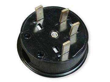 Liregus Plug EŠ25-001 4X25A 380V Black
