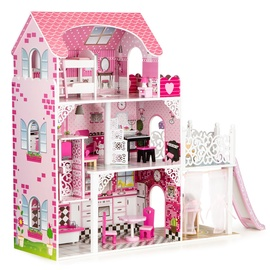 EcoToys Wooden Dollhouse With Lift XXL 214467