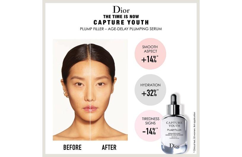 Сыворотка для лица Christian Dior Capture Youth Plump Filler Age-Delay Plumping Serum, 30 мл