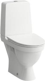 Laufen Kompas Rimless WC with QR/SC Lid 360x560mm White