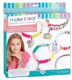 Make It Real Summer Vibes Heishi Bead Bracelets