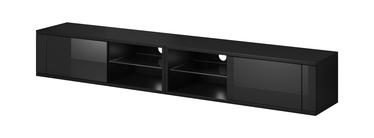 ТВ стол Vivaldi Meble Best Double, черный, 2000x358x305 мм