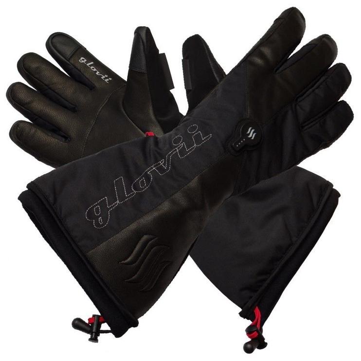 Glovii Heated Ski Gloves L Black